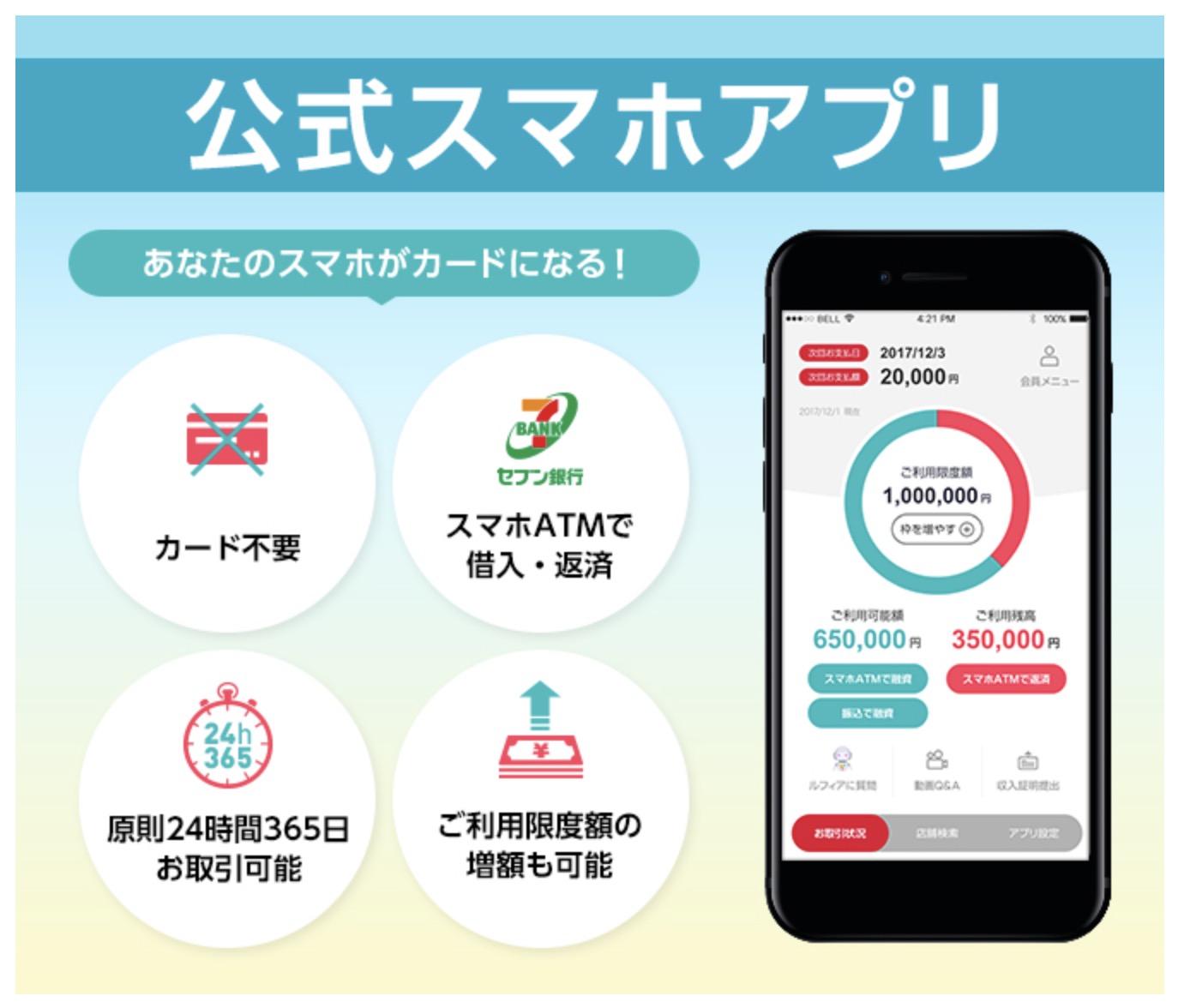 アイフルスマホアプリ(iPhone/Android)